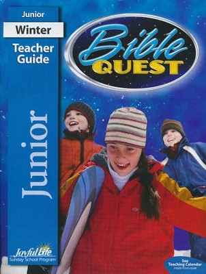 Bible Quest Junior Teacher Guide (Grades 5-6; 2016 Edition)  -