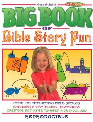 The Big Book of Bible Story Fun  -     By: Homeschool