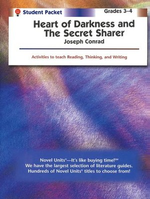 Heart of Darkness/Secret Sharer, Novel Units Student Packet, 9-12   -     By: Joseph Conrad