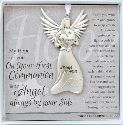 First Communion, Always An Angel Ornament  -