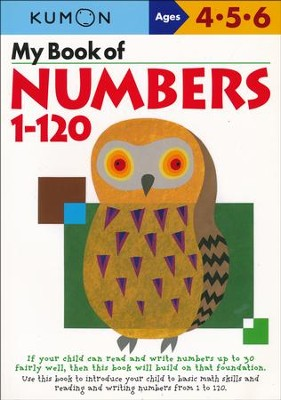 Kumon My Book of Numbers 1-120, Ages 4-6    -