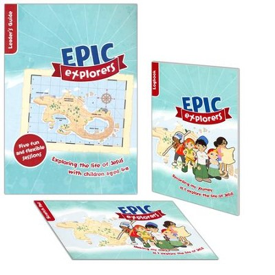 Epic Explorers Sample Pack: Christianity Explored, Children's Edition  -     By: Tamar Pollard, Nate Morgan Locke