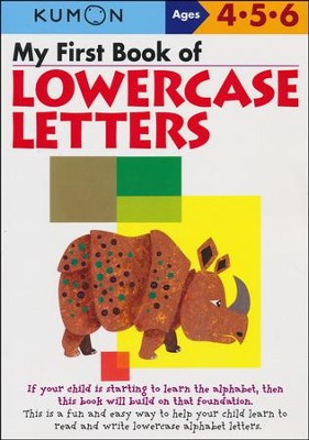 Kumon My First Book of Lowercase Letters, Ages 4-6    -