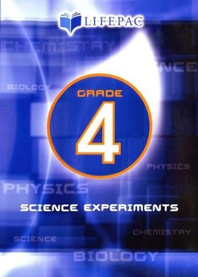 Lifepac Science Grade 4: Science Experiments on DVD   -