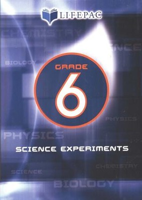 Lifepac Science Grade 6: Science Experiments on DVD   -