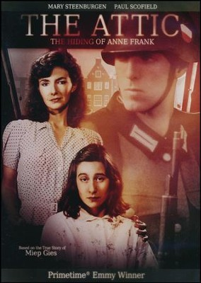 The Attic: The Hiding of Anne Frank, DVD   -