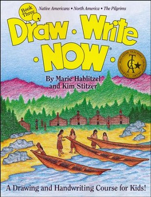 Draw Write Now, Book 3: Native Americans, North America, The  Pilgrims  -     By: Marie Hablitzel, Kim Stitzer