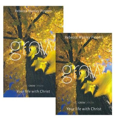 Grow: Your Life with Christ--DVD & Study Guide   -     By: Rebecca Manley Pippert