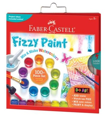 Do Art Fizzy Paint Mix & Make Colors  -