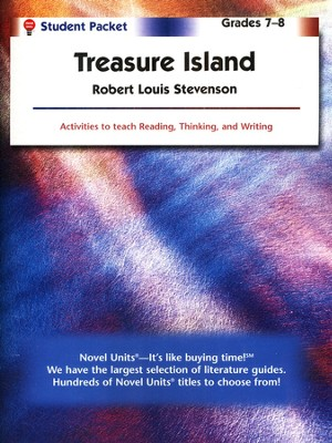 Treasure Island, Novel Units Student Packet, Grades 7-8    -     By: Robert Louis Stevenson