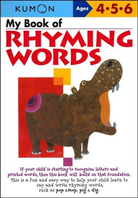 Kumon My Book of Rhyming Words, Ages 4-6    -