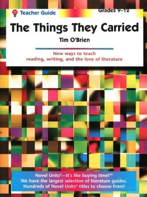 The Things They Carried, Novel Units Teacher's Guide, Grades 9-12   -     By: Tim O'Brien
