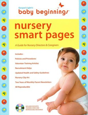 Nursery Smart Pages, with Cd-Rom and DVD   -
