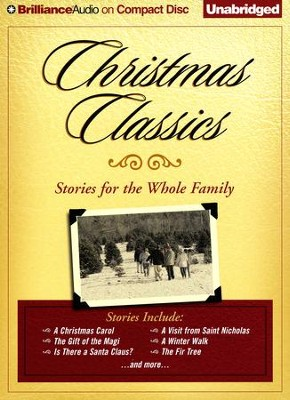 Christmas Classics: Stories for the Whole Family - Unabridged audio book on CD  -