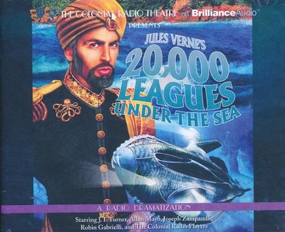 Jules Verne's 20,000 Leagues Under the Sea: A Radio Dramatization - Unabridged audio book on CD  -     By: Jules Verne, Deniz Cordell