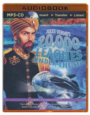 Jules Verne's 20,000 Leagues Under the Sea: A Radio Dramatization - Unabridged audio book on MP3-CD  -     By: Jules Verne, Deniz Cordell