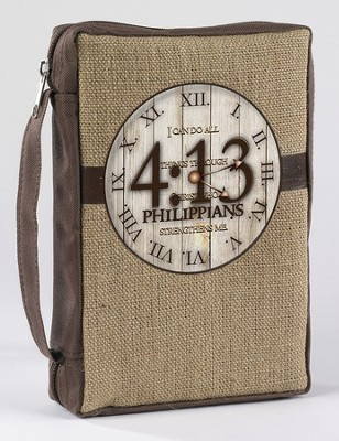 I Can Do All Things Through Christ, Philippians 4:13 Bible Cover  -     By: Miriam Hahn