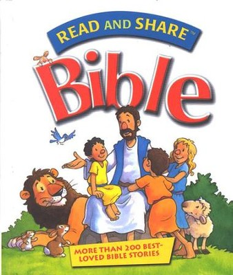 Read and Share Bible: Over 120 Best-Loved Bible Stories (slightly imperfect)  -     By: Gwen Ellis