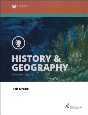 Lifepac History & Geography Teacher's Guide Grade 9   -     By: Alpha Omega