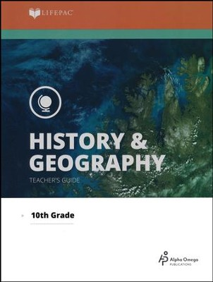Lifepac History & Geography Teacher's Guide, Grade 10   -