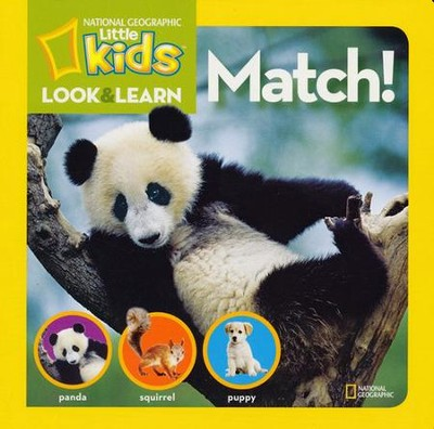 National Geographic Little Kids Look and Find: Finding  -     By: National Geographic