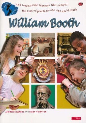 Footsteps of the Past: William Booth   -     By: Andrew Edwards, Fleur Thornton