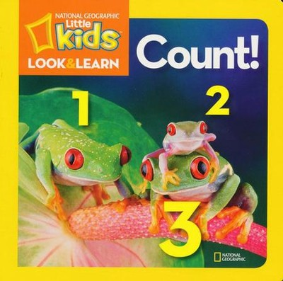 National Geographic Little Kids Look and Find: Counting  -     By: National Geographic