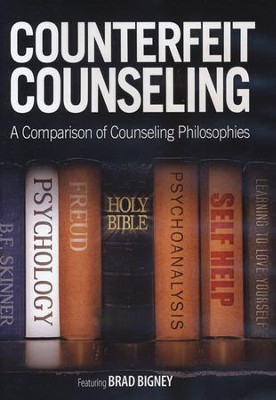 Counterfeit Counseling DVD   -     By: Brad Bigney