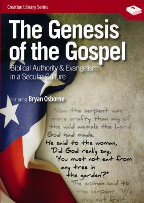 The Genesis of the Gospel, DVD   -