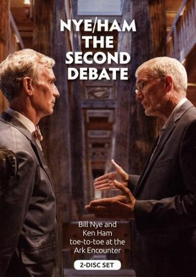 Nye/Ham: The Second Debate 2-DVD Set   -