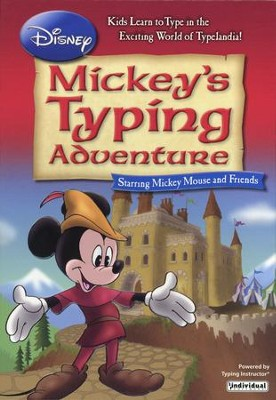 Disney's Mickey's Typing Adventure on CD-ROM   -