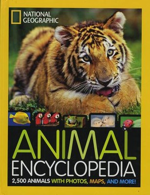 Animal Encyclopedia: 2,500 Animals with Photos, Maps, and More!  -     By: Dr. Lucy Spelman