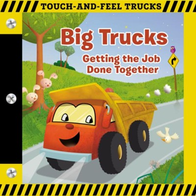Big Trucks: Touch-and-Feel Book  -