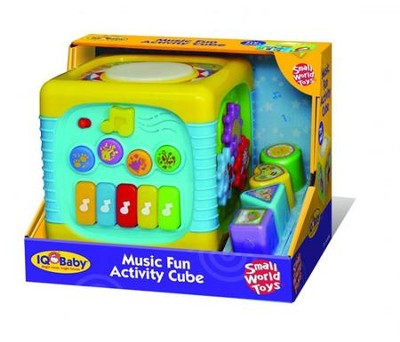 Music Fun Activity Cube  -
