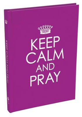 Keep Calm and Pray Gift Book  -