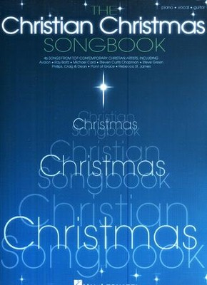The Christian Christmas Songbook (Piano/Vocal/Guitar)   -