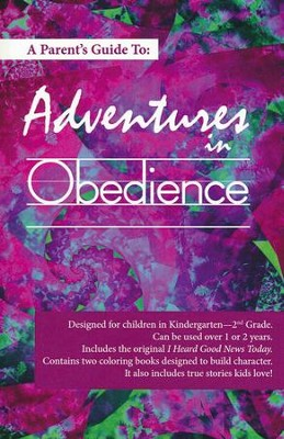 Adventures in Obedience: Parent's Guidebook   -