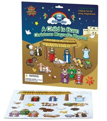 A Child Is Born Magnetic Playset   -