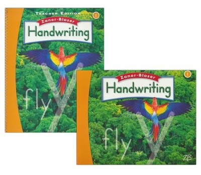 Zaner-Bloser Handwriting Grade 1: Student & Teacher Editions (Homeschool Bundle -- 2016 Edition)  -