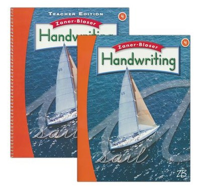 Zaner-Bloser Handwriting Grade 4: Student & Teacher Editions (Homeschool Bundle -- 2016 Edition)  -