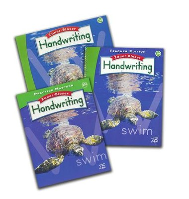Zaner-Bloser Handwriting Grade 2M: Student, Teacher, & Practice Masters (Homeschool Bundle -- 2016 Edition)  -
