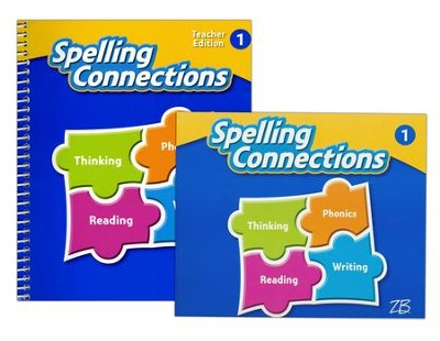 Zaner-Bloser Spelling Connections Grade 1: Student & Teacher Editions (Homeschool Bundle -- 2016 Edition)  -