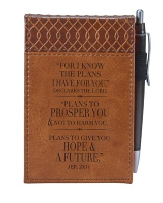 For I Know the Plans Notepad  -