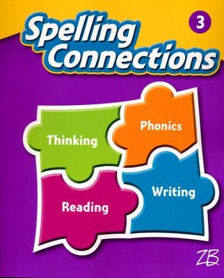 Zaner-Bloser Spelling Connections Grade 3: Student Edition (2016 Edition)  -