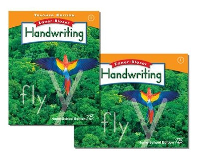Zaner-Bloser Handwriting Grade 1: Student & Teacher Editions (Homeschool Bundle)  -
