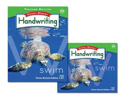 Zaner-Bloser Handwriting Grade 2M: Student & Teacher Editions (Homeschool Bundle)  -