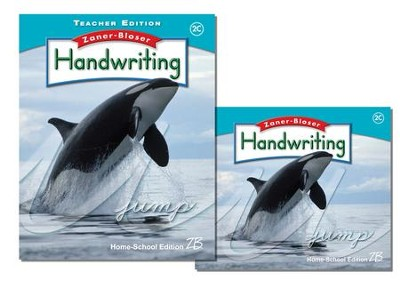 Zaner-Bloser Handwriting Grade 2C: Student & Teacher Editions (Homeschool Bundle)  -