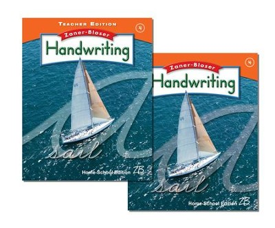 Zaner-Bloser Handwriting Grade 4: Student & Teacher Editions (Homeschool Bundle)  -