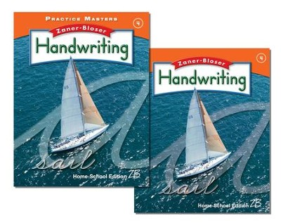 Zaner-Bloser Handwriting Grade 4: Student Edition & Practice Masters (Homeschool Bundle)  -