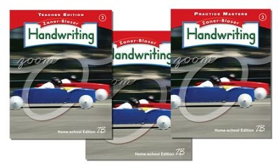 Zaner-Bloser Handwriting Grade 3: Student, Teacher, & Practice Masters (Homeschool Bundle)  -
